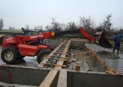 Stal bouwen in Oudewater met Manitou