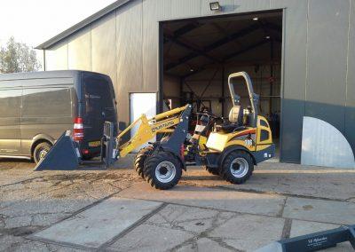 Mustang AL 306 shovel naar Poldersport De Kwakel