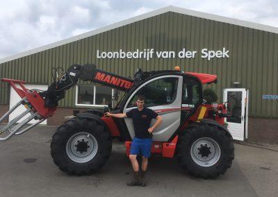 Eerste NewAg naar Loonbedrijf Van der Spek uit Waddinxveen