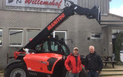 Manitou NewAg verreiker naar Willemshof uit Hekelingen